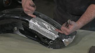 Fender Dent Removal