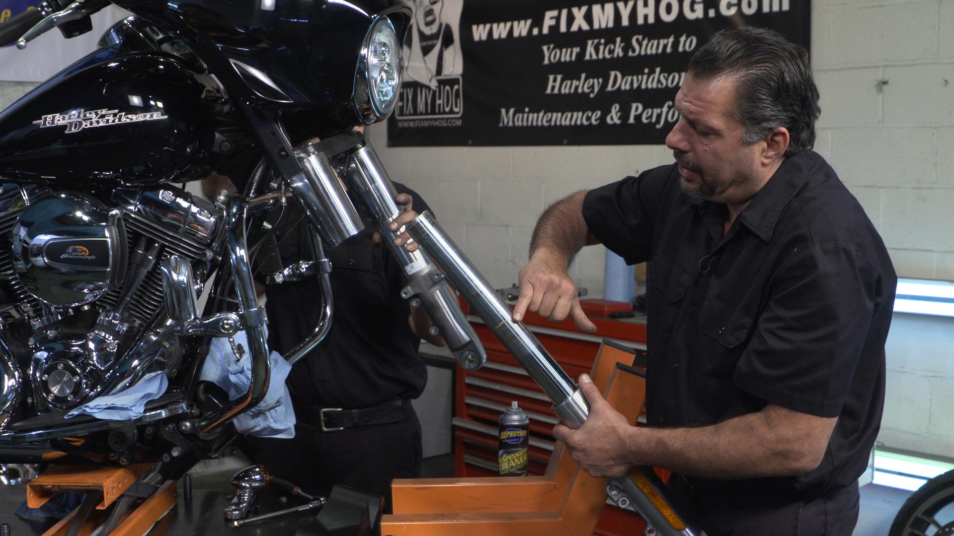 Harley Fork Sliders Removal | Fix My Hog