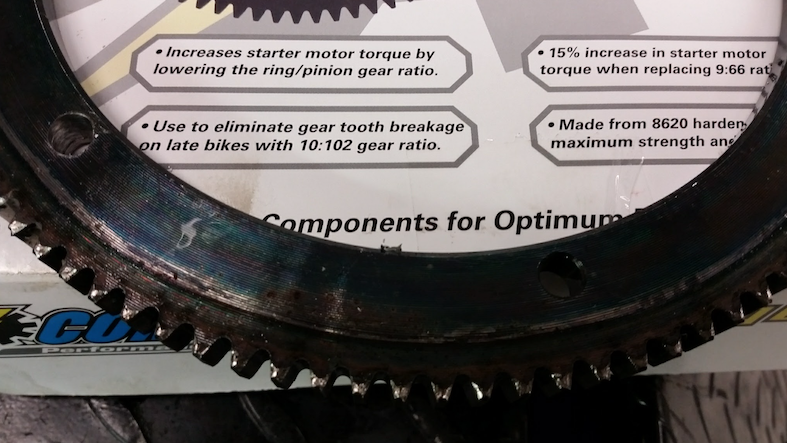 In The Shop: Starter Ring Gear Replacement | Fix My Hog