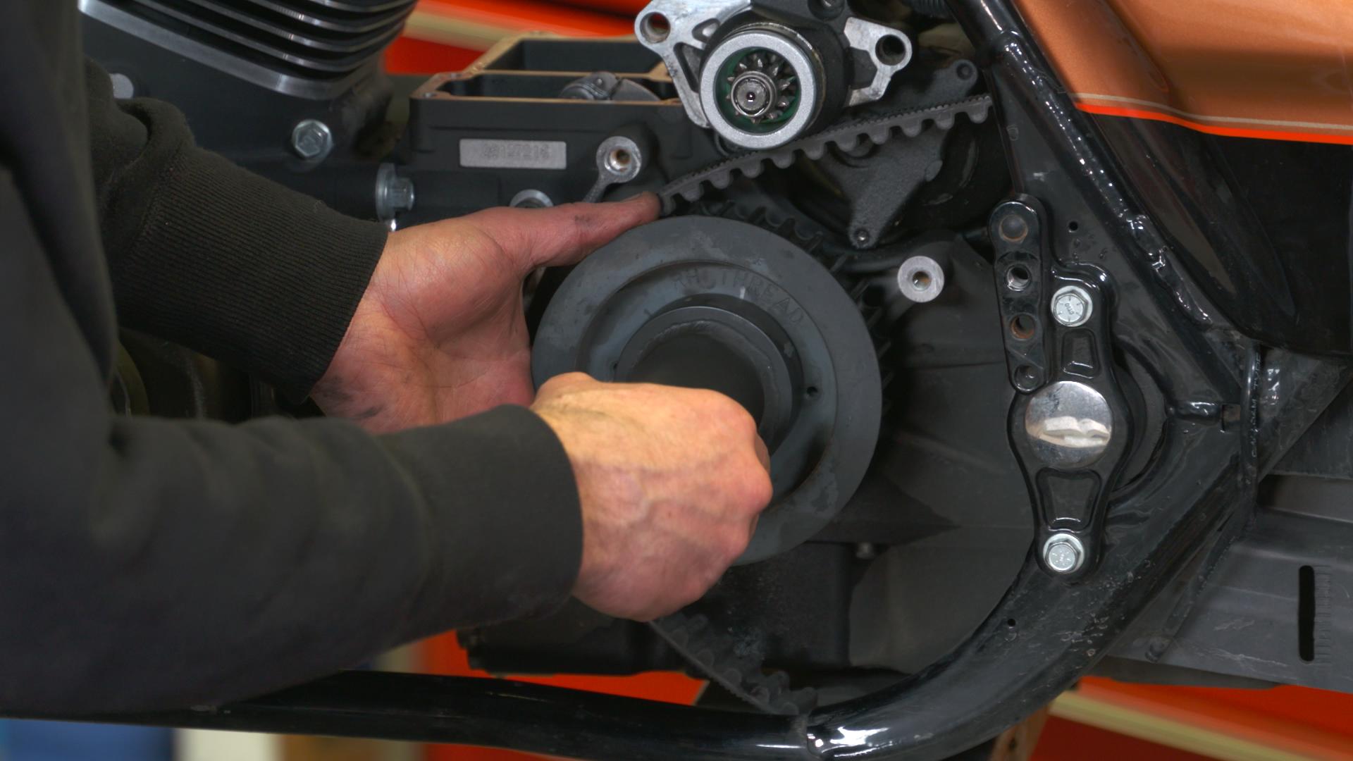 Harley 6 Speed Gear Set Install During Transmission Rebuild