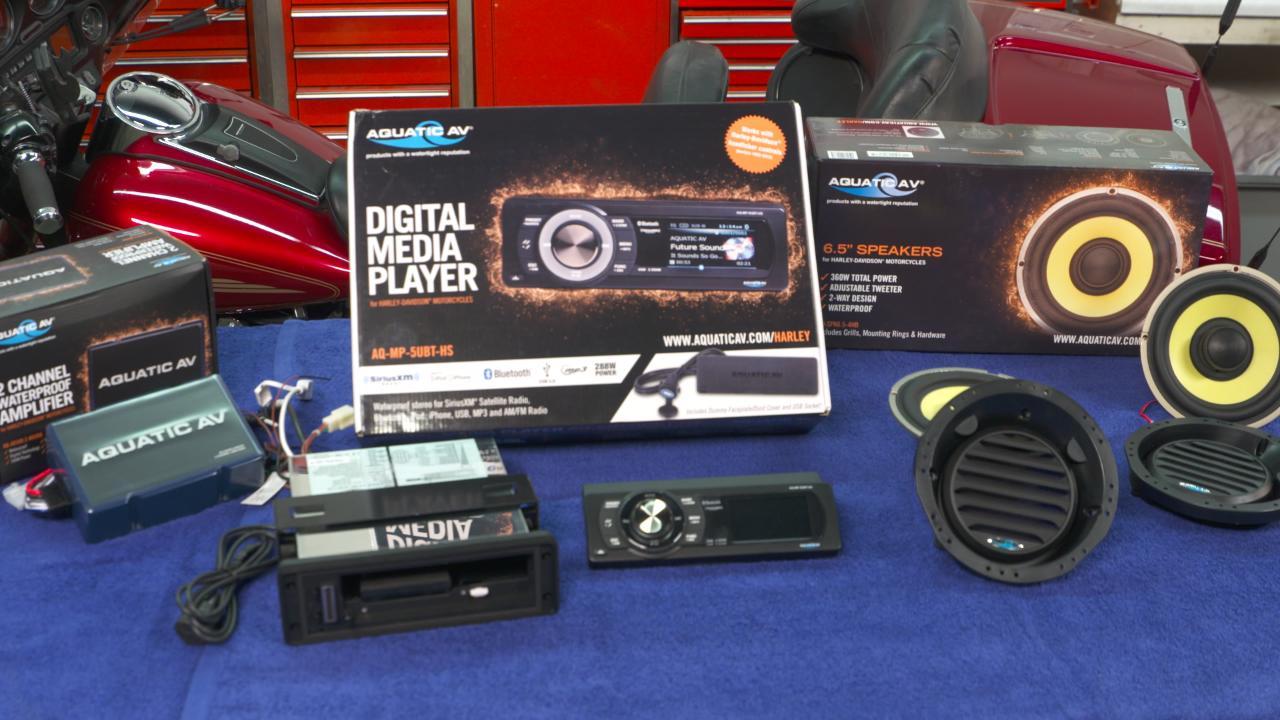 Harley Davidson Radio Replacement Fix My Hog Wiring Plug 2003
