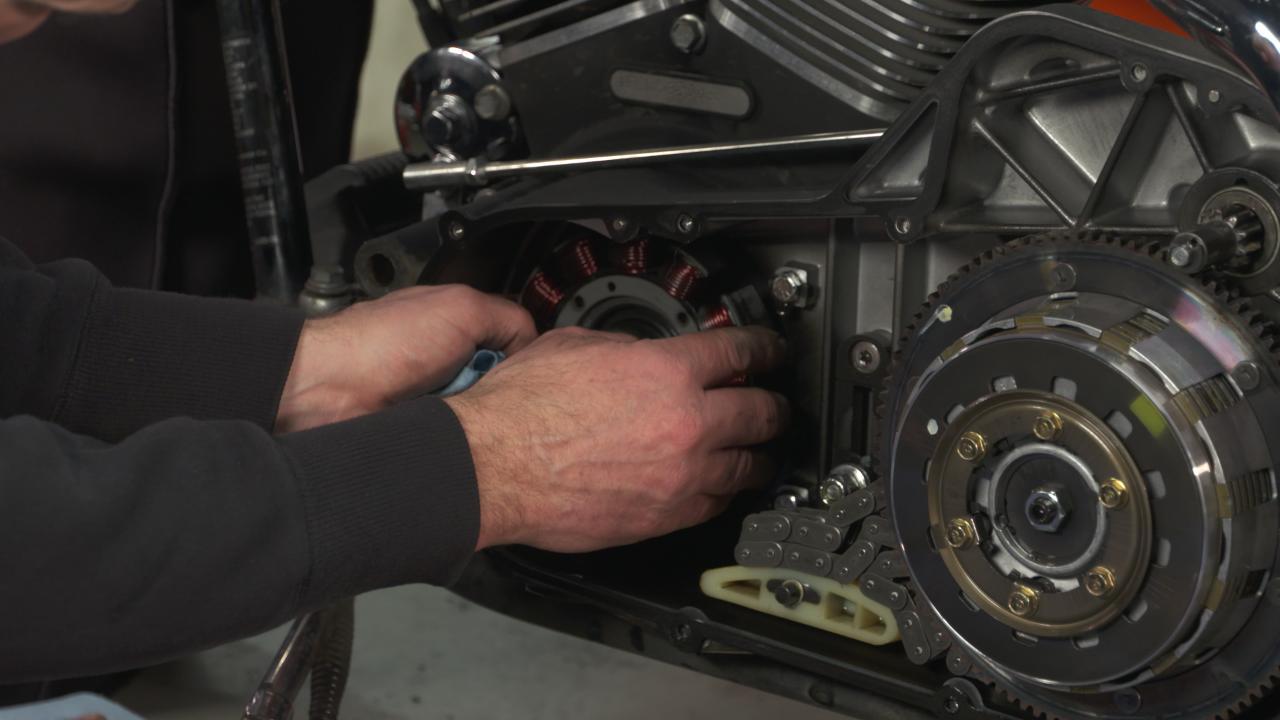 Harley Davidson Stator Removal