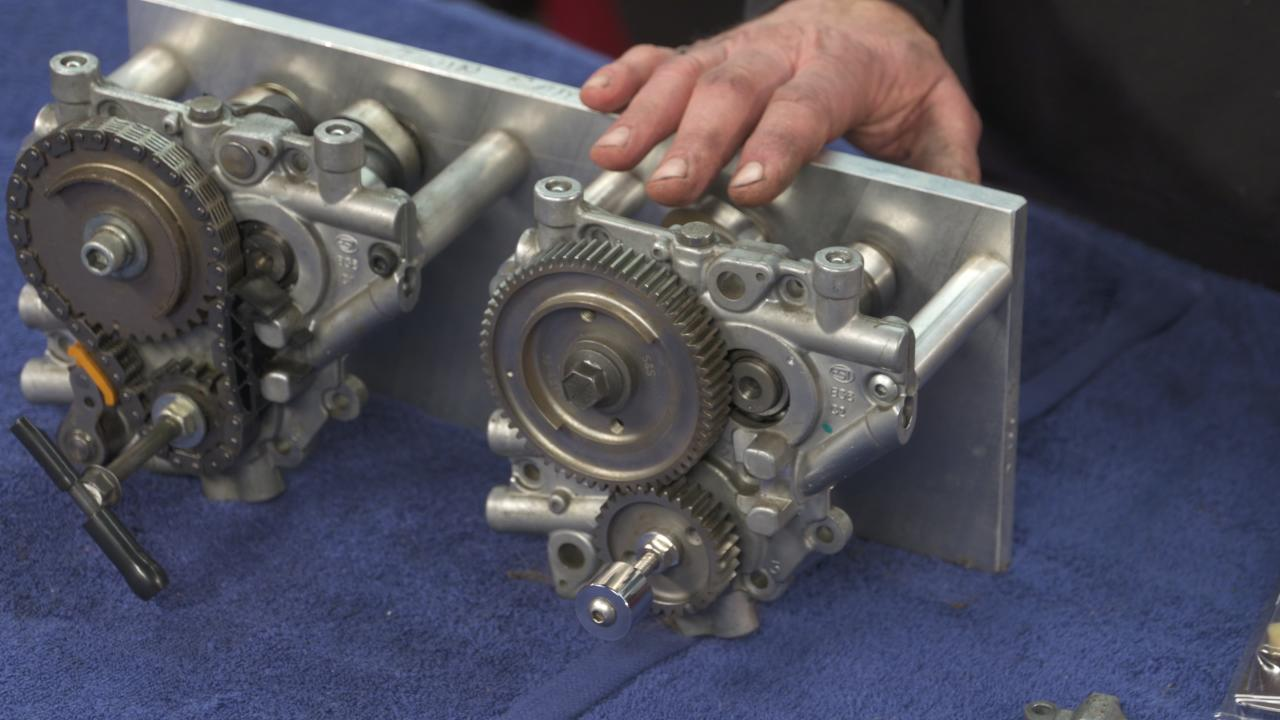 Twin Cam Gear Drive Conversion Explanation