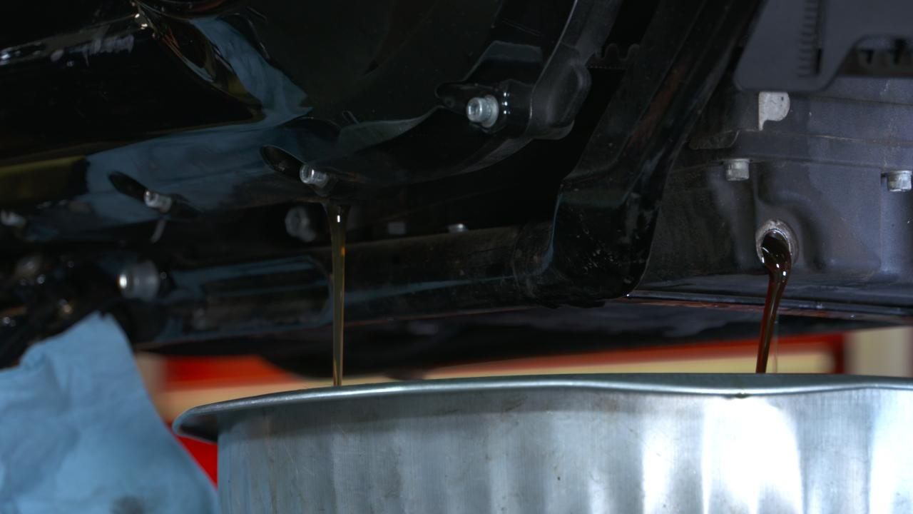 Milwaukee 8 Oil Drain Plug Location and Removal