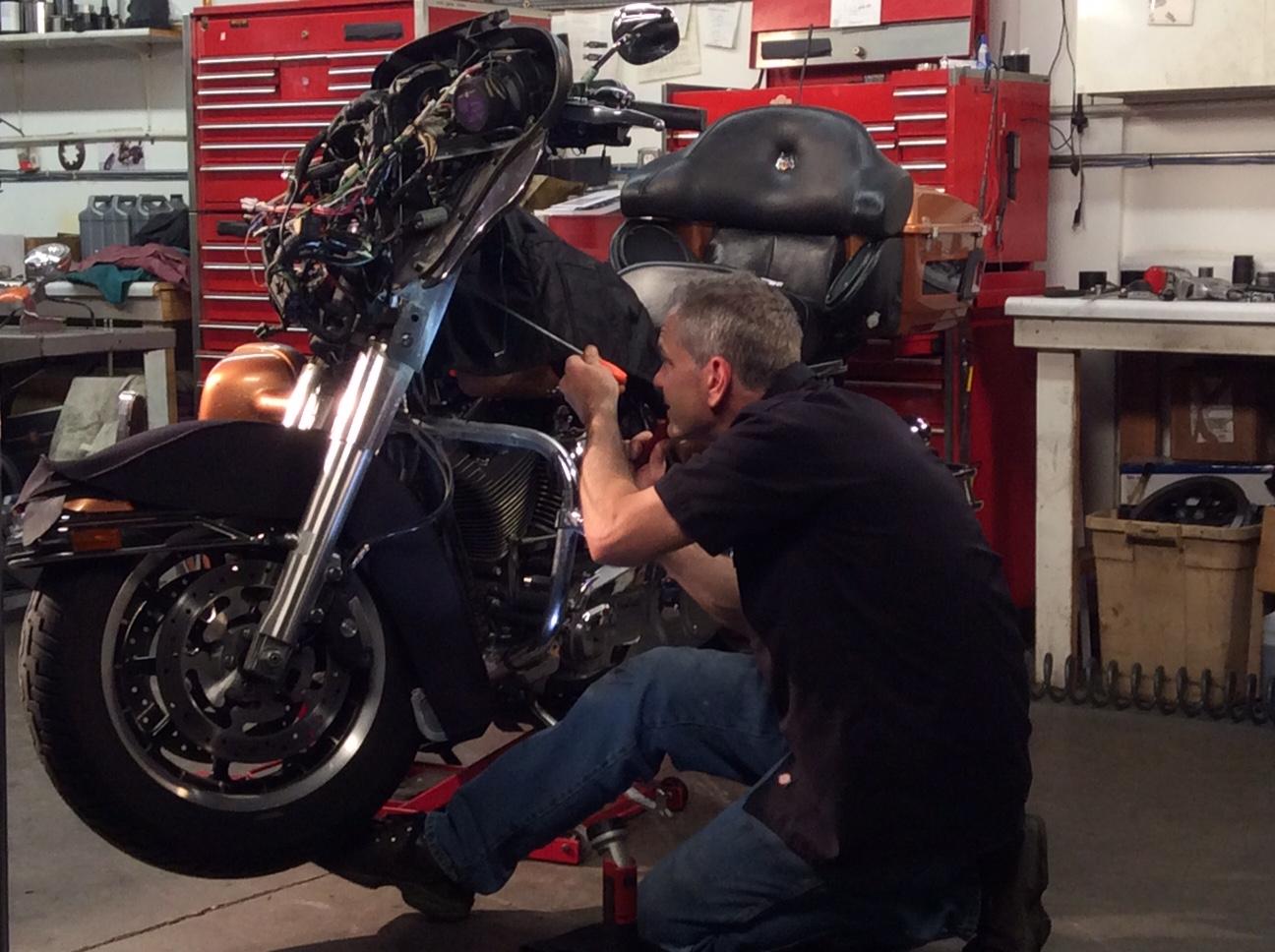 Harley Wobble Steering Head Bearing