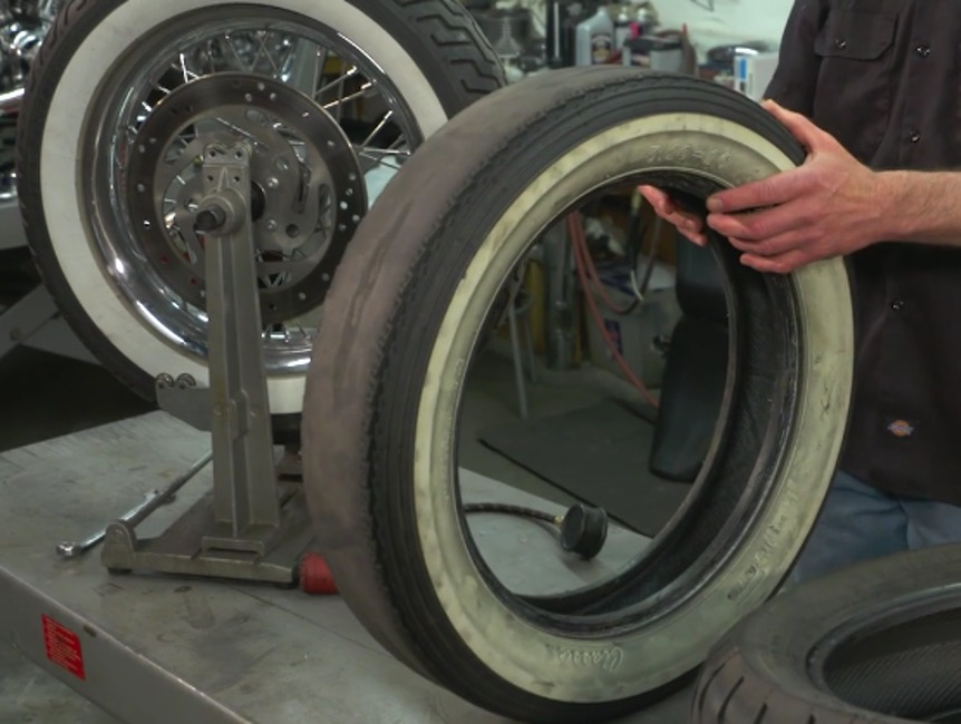Harley Wobble Tire Cupping