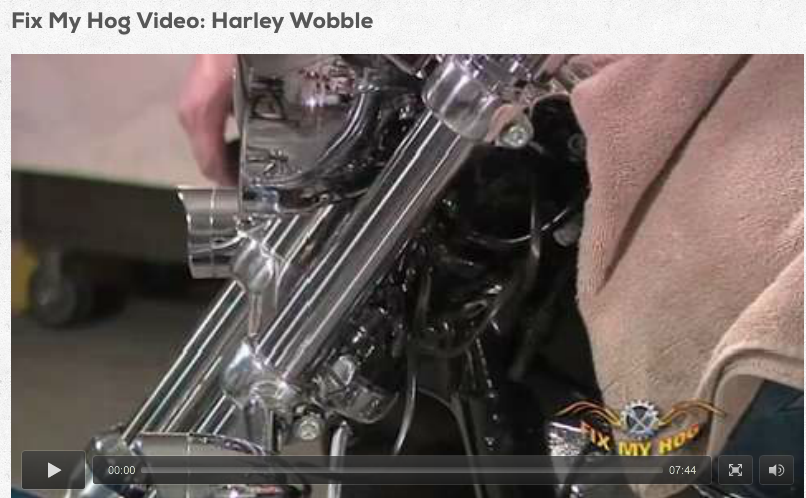 Harley Wobble | Fix My Hog