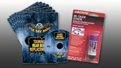 FMH Y0033Q Softail Dyna Maintenance 7 DVD Set + Free Loctite Hi-Tack Gasket Dressing Stick