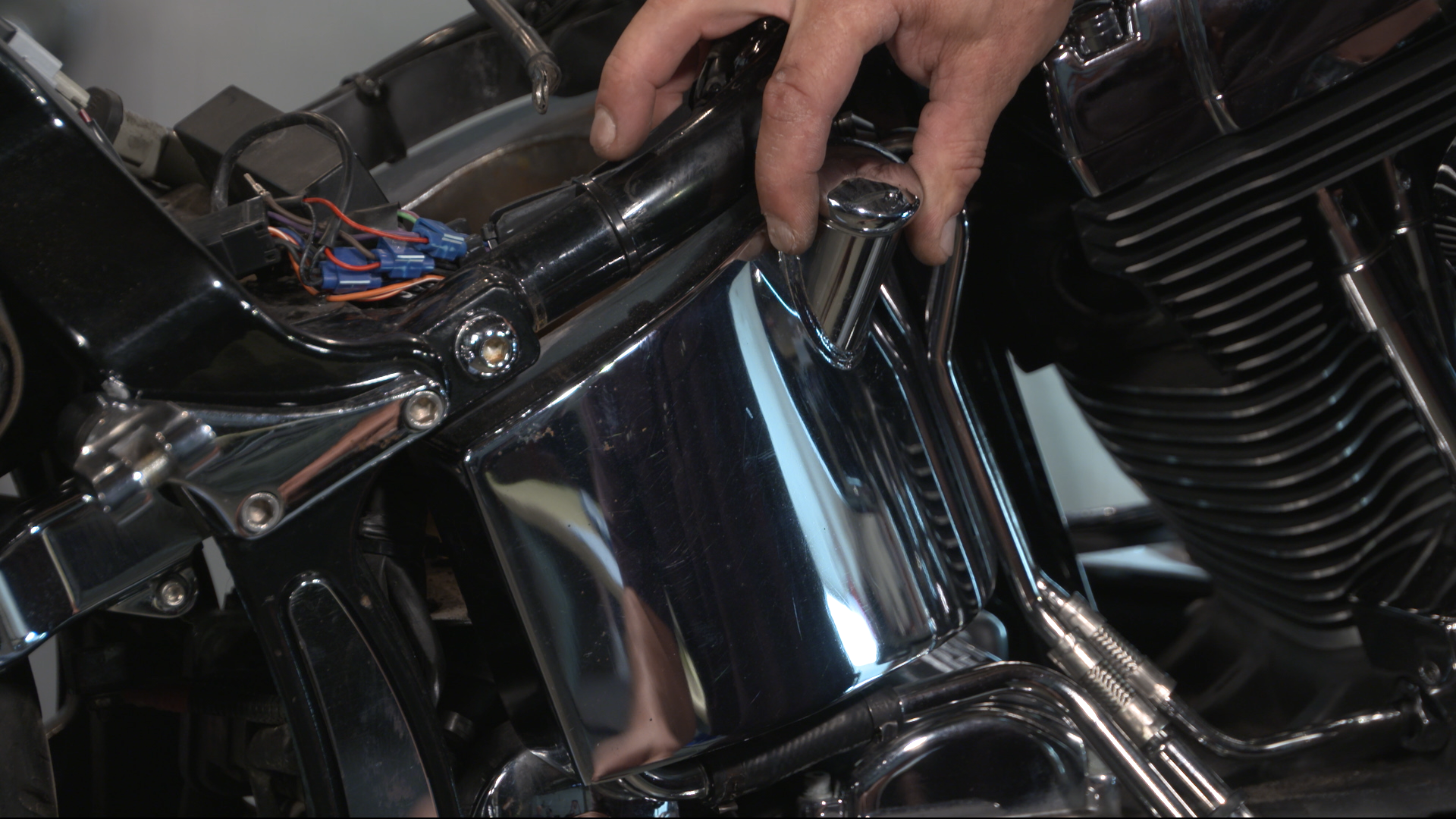 Harley Oil Tank Removal Fix My Hog