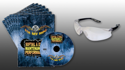 FMH Y0040Q Softail Dyna Maintenance 7DVD Set + FREE Safety Glasses