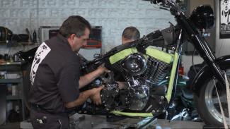Harley Davidson Transmission Removal
