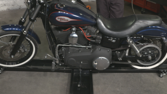Black Widow motorcycle Lift