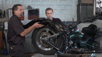 Harley Rear Fender Removal