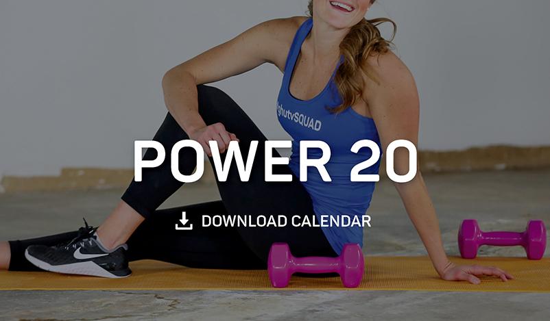 Power 20 Calendar