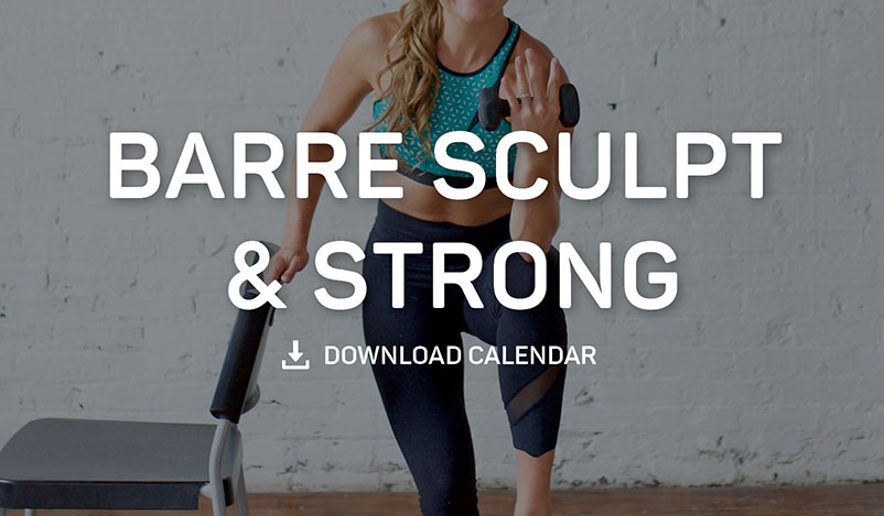 Barre Sculpt and Strong