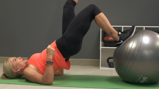 Stability Ball Butt Workout