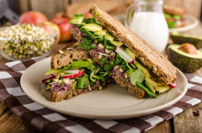 beet-hummus-green-sandwich