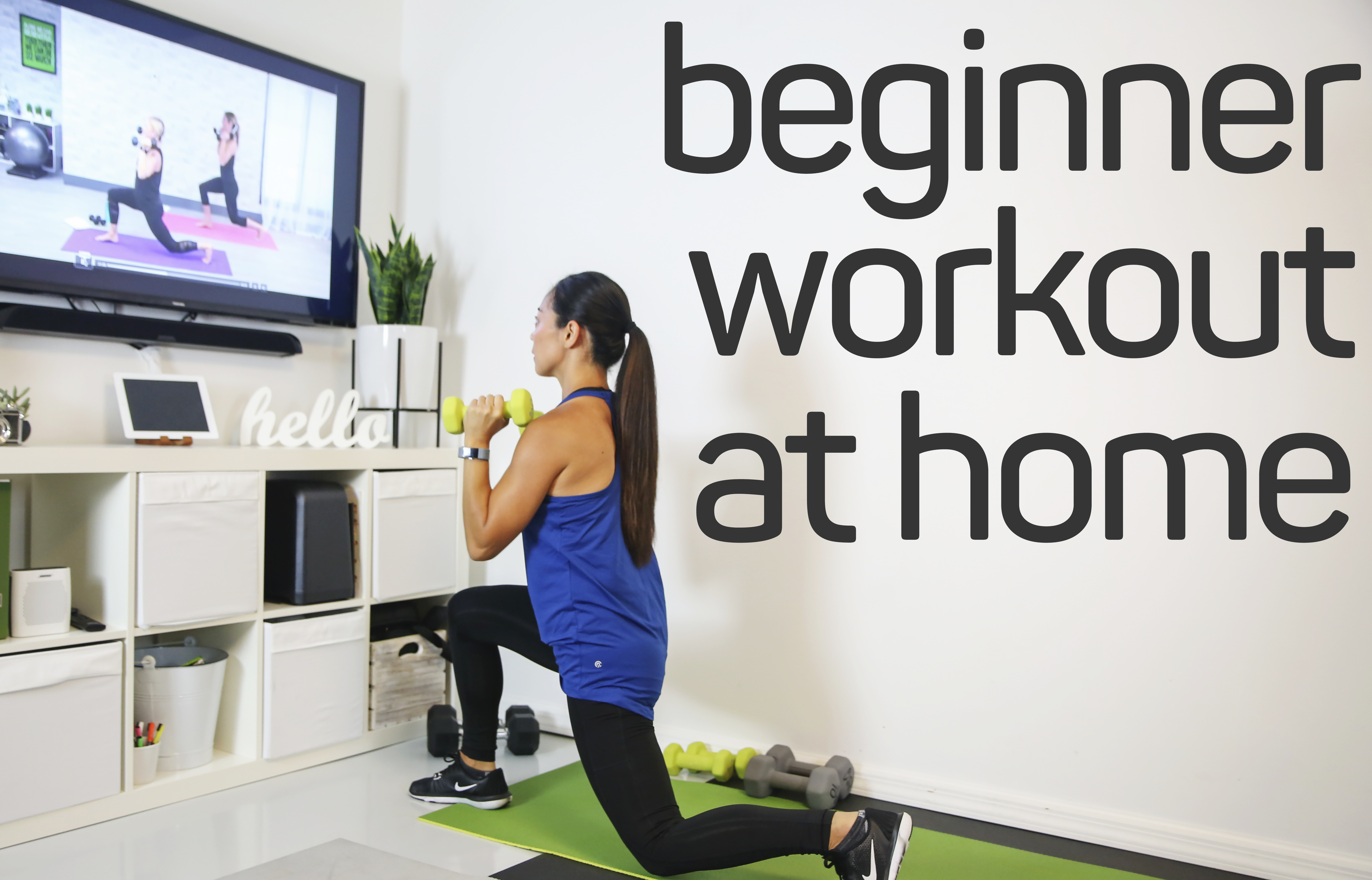How To Start A Beginner Workout At Home
