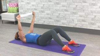 10-Minute Towel Pyramid Workout
