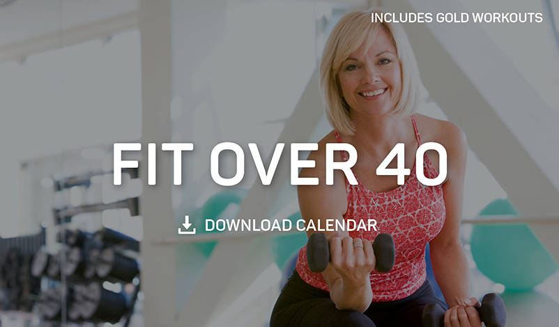 Workouts for Women Over 40 Calendar