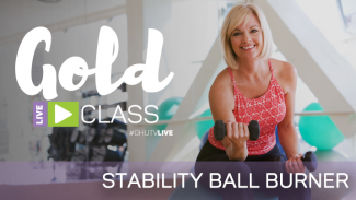 GOLD LIVE Class: Stability Ball Burner