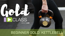 Beginner GOLD Kettlebell