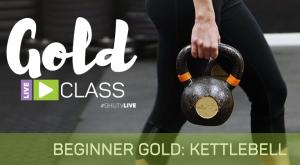 Beginner GOLD Kettlebell