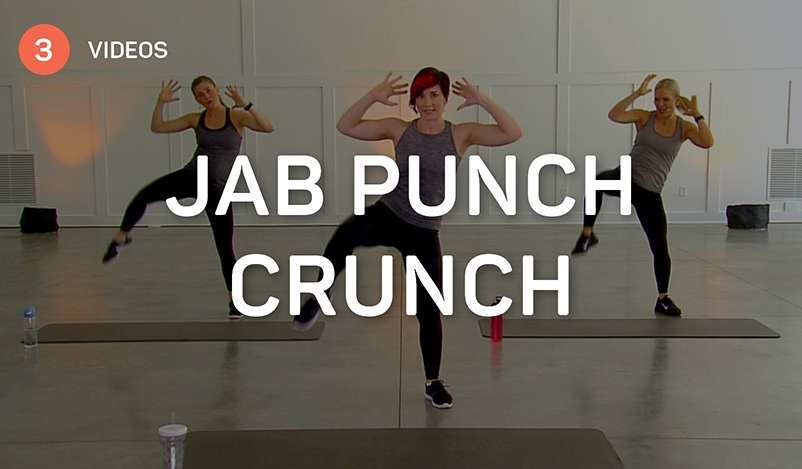 Jab Punch Crunch HIIT Workout