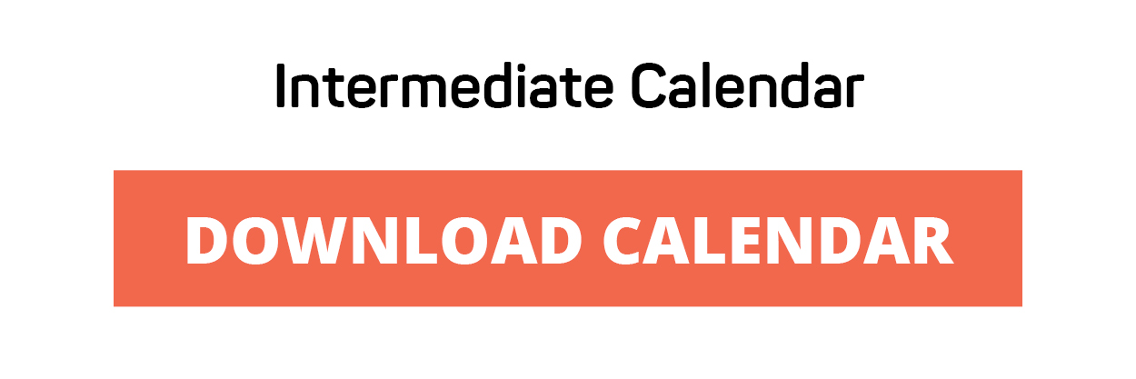 Download Challenge Calendar - Intermediate