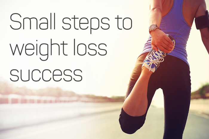 3 Small Steps to Weight Loss Success