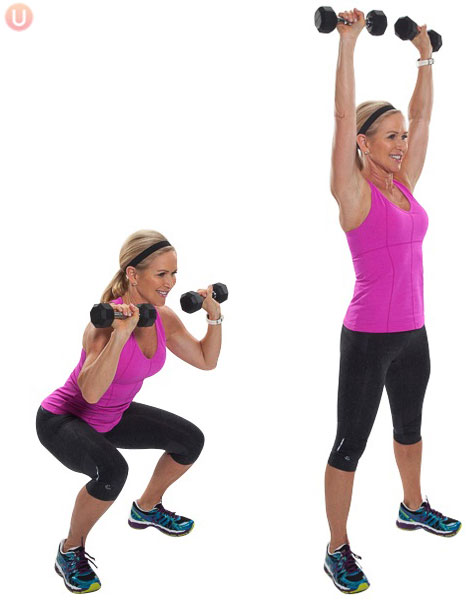 Squat-Thrusters-Exercise