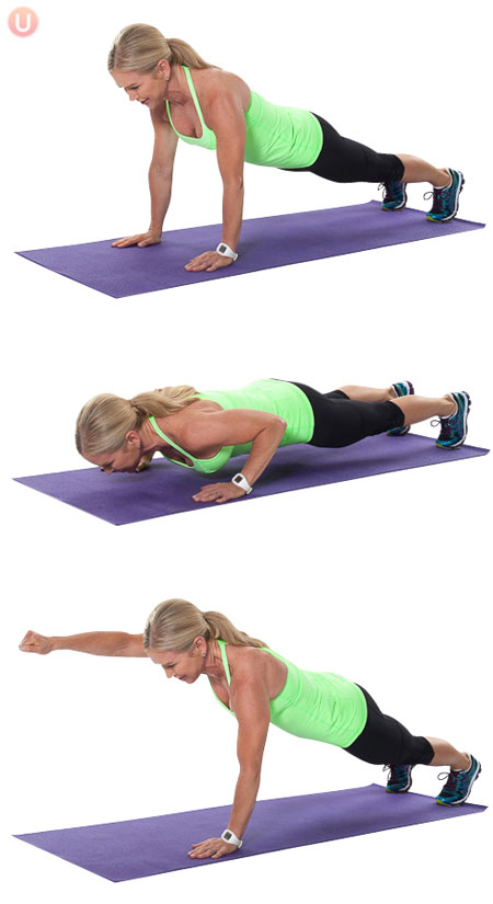 Push-Up-Punch-Exercise