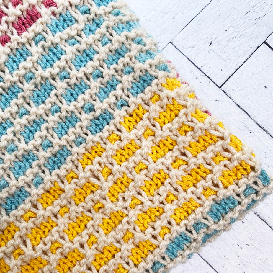 Knitting for a Cause - Full Blanket Pattern