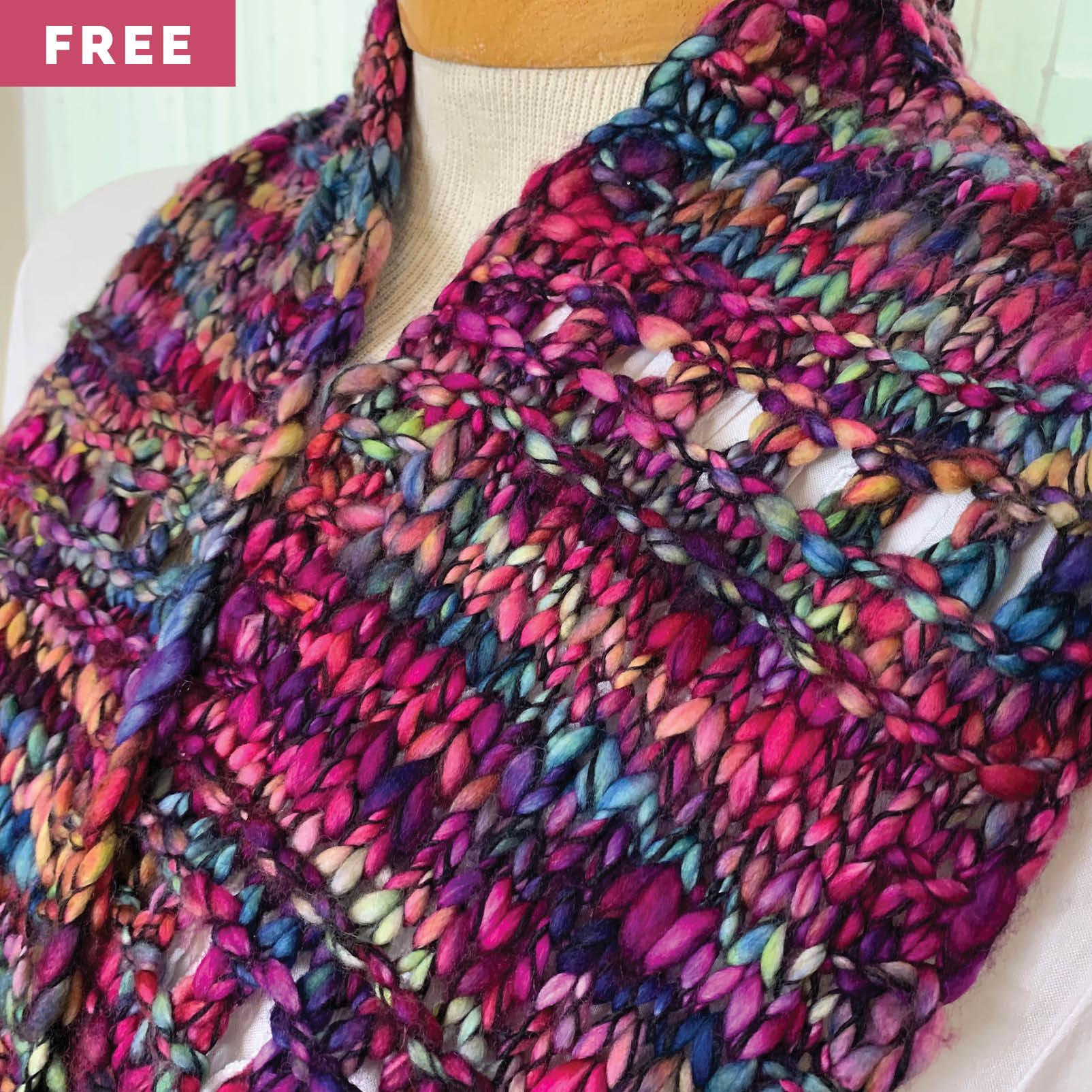 Free Knitting Pattern - Cozy Cowl