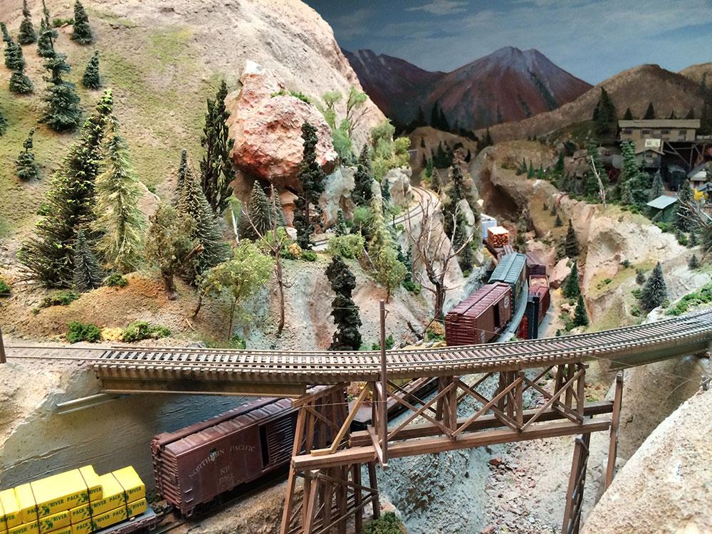 model railroad trackwork 1
