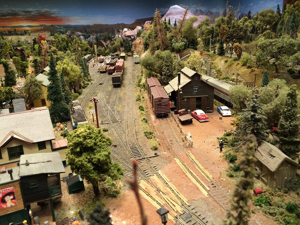 model railroad trackwork 2