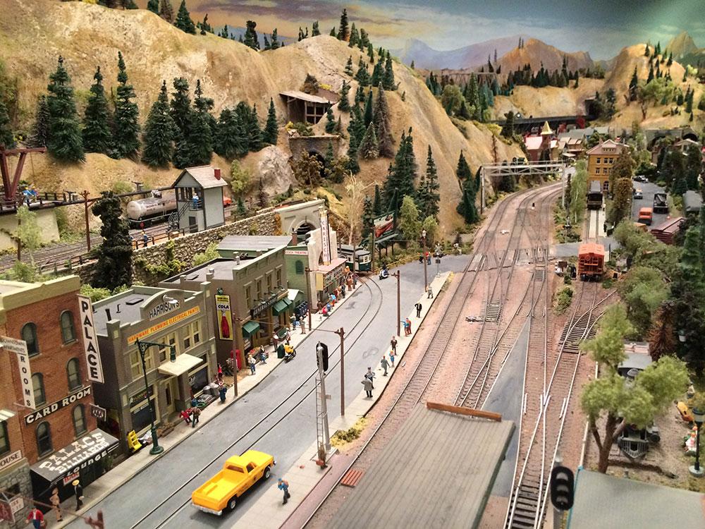 model railroad trackwork 3