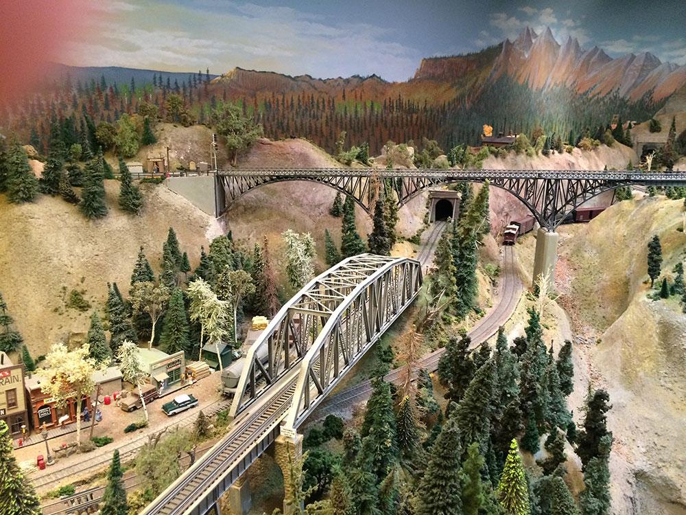 model railroad trackwork 4