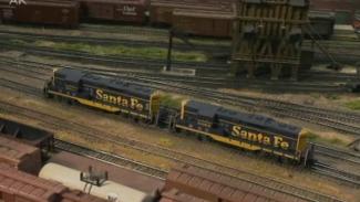 Model Train Operations Session