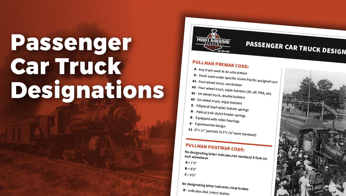 Passenger Car Truck Designations PDF