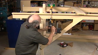 Building a Model Railroad Benchwork L-Girder