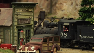 Model Railroad Construction: Passing Through Cooper