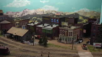 Exploring the Model Train Scenery of 1940s Gunnison