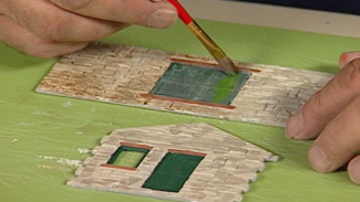 Weathering Structures with Water Colors