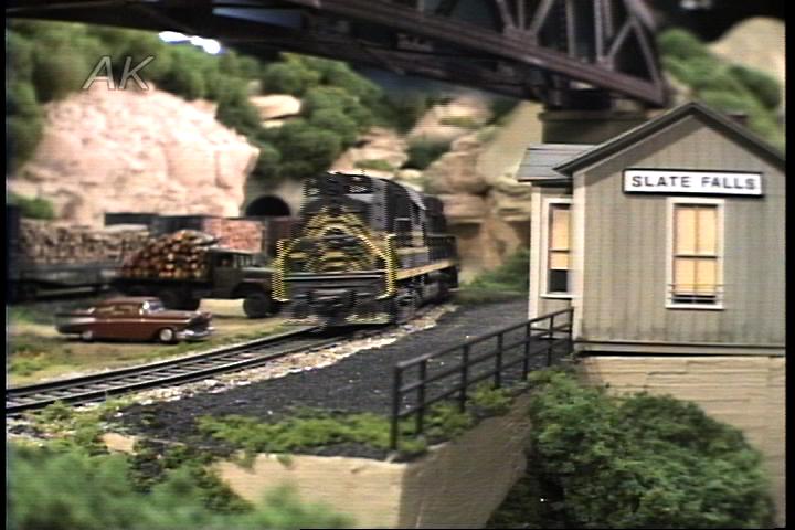 Tony Koester U0026 39 S Model Of Allegheny Midland Railroad