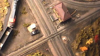 model railroad crossings