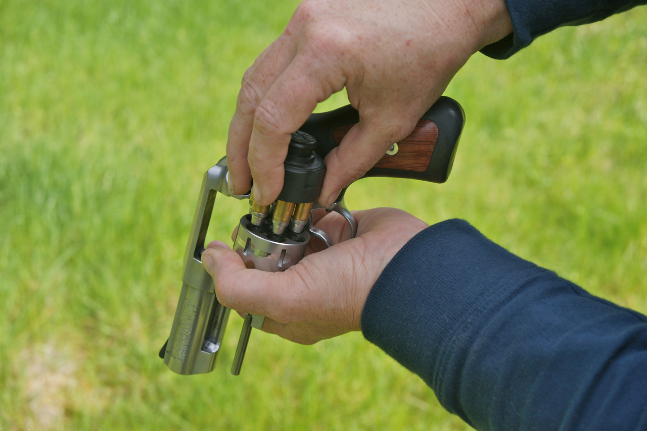 Reloading the revolver often cures function problems.
