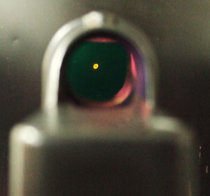 Image of a meprolight reticle