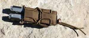 Image of a Versatile Taco Pistol Pouch - Self Defense Gear
