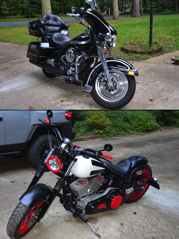Motorcycle Types Collage
